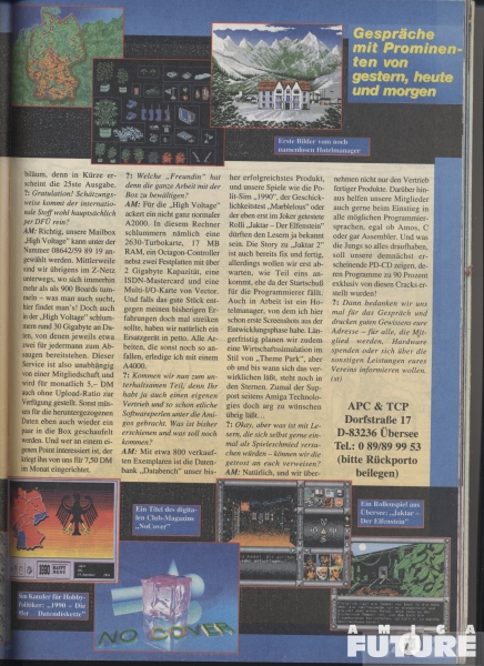 Amiga Joker: Andreas Magerl Interview