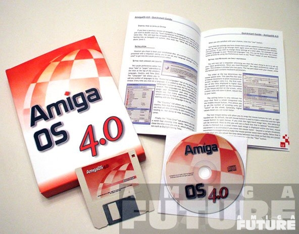 AmigaOS 4 Classic PPC Lieferumfang
